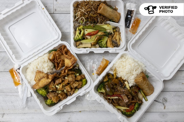 Chinese Meal Boxes To-Go