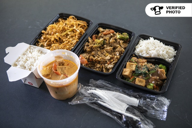 Delicious Thai Entree Boxes