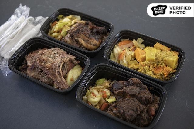 Individual Caribbean Set Meals
