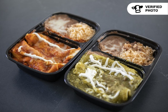 Individual Enchilada Boxes