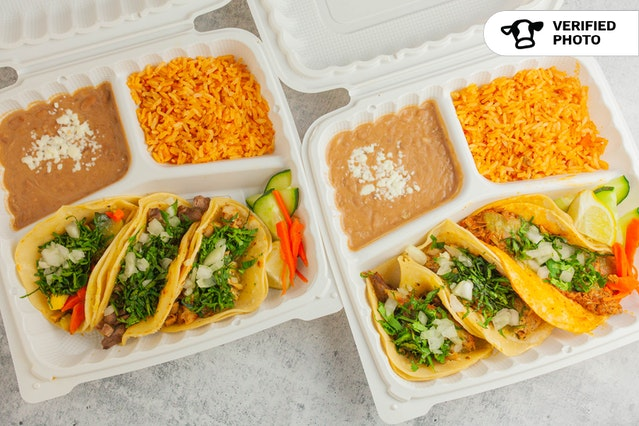 Corazon's Individual Taco Meal