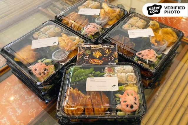 Upscale Japanese Bento & Tempura Boxes