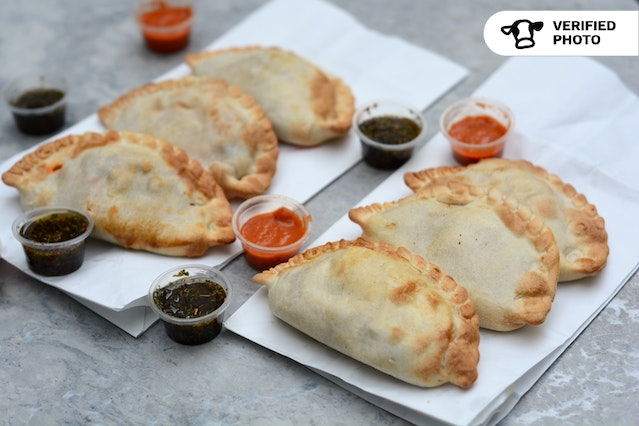 Individually-Wrapped Empanadas Meal with Salad