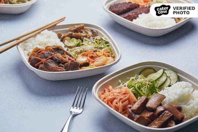 KFire Individual Korean BBQ Plates