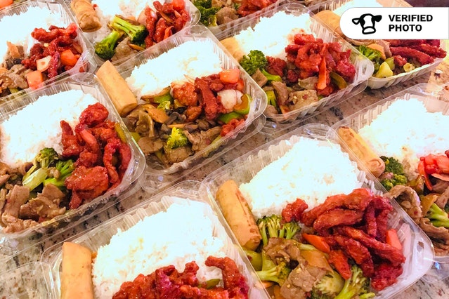 Chinese Boxed Meals Deluxe