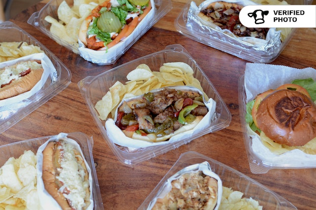 Classic Cheesesteaks Boxed Lunch