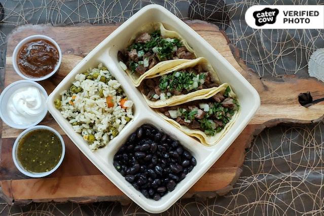 Individual Taco Plates